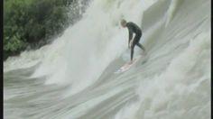 Bigwave #riversurfing in France! #Riverbreak http://riverbreak.com