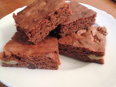 #Glutenfree #Brownies (recipe on blog) #GFreeAbroad