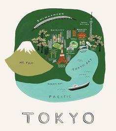Tokyo Print | Rifle Paper Co