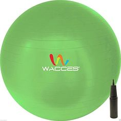 Exercise Ball for Yoga Fitness Pilates Sculpting 75 cm Green ** For more information, visit image link. (Note:Amazon affiliate link)
