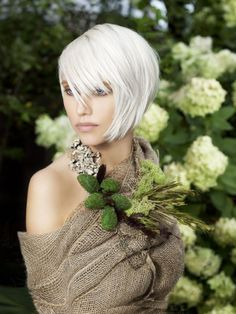 Platinum Hair from Raw Innovation from Red 7 Salon