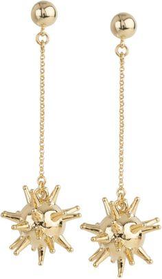 Charm & Chain Lele Sadoughi Sputnik Earrings