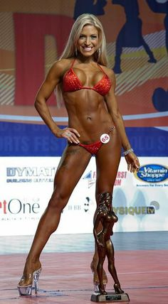 INGRID ROMERO - Overall Winner of 2011 Arnold Amateur Bikini Competition. Hispanics seem to be dominating IFBB & NPC bikini. Amanda Latona & Ingrid Romero especially.