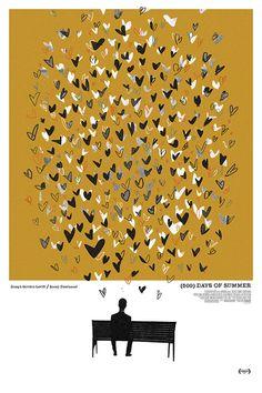 500 Days Of Summer alternative movie poster by TheArtOfAdamJuresko