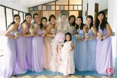Purple Dresses  Photo By: Eugene Martinez Photography  [www.kasal.com]