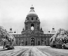 Pasadena Museum of History is raising funds for The Great History Freeze to preserve photographic negatives on Kickstarter! Join The Great History Freeze and help preserve a collection of invaluable and irreplaceable negatives. Places In California, Pasadena California, Vintage California, Southern California, California History, San Gabriel Mountains, San Gabriel Valley, Pasadena City Hall, San Fernando Valley