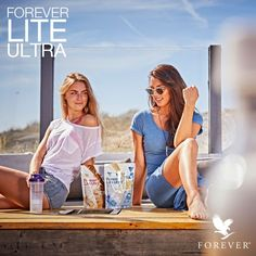 Enjoy Forever Lite Ultra Shake! Comes in Vanilla & Chocolate flavor. #protein #shake #foreverfit