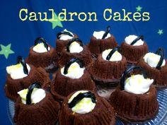 Cauldron Cakes, A Harry Potter Treat