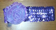 Check out this item in my Etsy shop https://www.etsy.com/listing/227064394/light-purple-sparkle-rose-headband-6