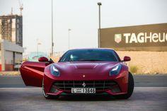Rosso Fuoco Ferrari F12 Berlinetta | AutoMotivated.
