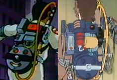 Image result for diy proton pack cartoon