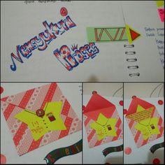 """ThanksGiving#""""Mensyukuri Proses""""#My envelope#Craft#Scrapbooking#2"""