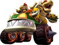 Mario Kart Double Dash-Bowser and Bowser Jr.