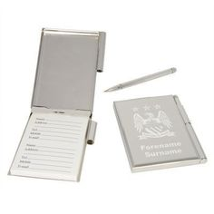 Personalised Manchester City Address Book #ManchesterCity #FootballGifts £29.95