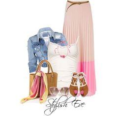 Stylish Eve Facebook   Stylish-Eve-Outfits-2013-Summer-Maxi-Skirts_24