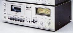 AIWA AD-7300 1976 Cassette Recorder, Audio Equipment, Decks, Accra, Retro, Sony, Tape, Childhood, Vintage
