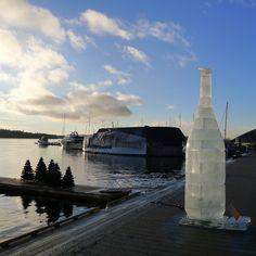 oslo | norge | oslofjorden | aker brygge i julepynt