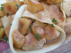 Enjoy the cuisine of France? Our chicken normandy recipe for crepes will bring the flavors of Normandy into your kitchen! Crepes And Waffles, Savory Crepes, Pancakes, Chicken Normandy, Brandy Cream Sauce, Chicken Crepes, Churros, French Appetizers, Crepe Recipes
