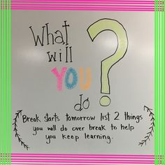 Kids write on sticky and share at morning meeting Classroom Board, Future Classroom, Bulletin Boards, Classroom Ideas, Daily Writing Prompts, Writing Ideas, Morning Board, Morning Activities, Bell Work