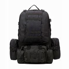 Waterproof 3D Army Fans Rucksack Bag Multi Sytle Multifunction High Capacity for Hike Trek Camouflage Travel Backpack  Z13