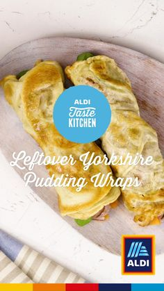 Yorkshire pudding wraps are amazing! Try our tasty recipe now. - Yorkshire pudding wraps are amazing! Try our tasty recipe now. Aldi Recipes, Baby Food Recipes, Vegan Recipes, Dessert Recipes, Cooking Recipes, Juice Recipes, Yorkshire Pudding Wrap, Yorkshire Pudding Recipes, Nigella Lawson