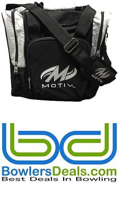 1 Ball 71094: Motiv Ascent 1 Ball Single Tote Bowling Bag Silver -> BUY IT NOW ONLY: $32.95 on eBay!