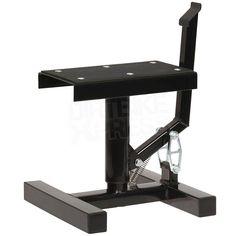 Race FX Single Pillar Bike Stand - Black
