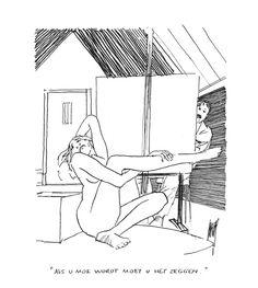 Peter van Straaten - 150 originele tekeningen! - Galerie Mokum Body Sketches, Girl Photo Poses, Anime Sketch, Political Cartoons, Life Drawing, Erotic Art, Artist At Work, Art Projects, Illustration Art
