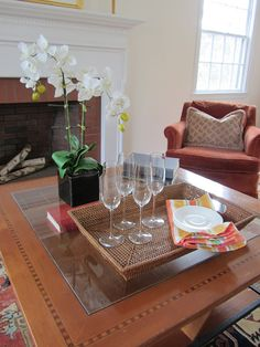 Home Staging | Lexington, MA | Living Room