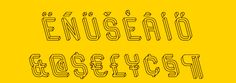 designer Martzi Hegedűs has designed a typeface in which every character is an impossible object. It's beautiful, but it'll give you a headache in 20 seconds flat.