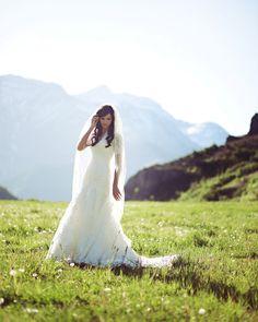 bridals, mountains, gorgeous