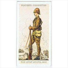 1939 Players Cigarette card 'Uniforms of the Territorial Army' no.16 on #eBid United Kingdom