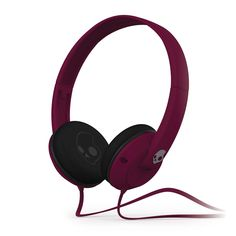 BARGAIN Skullcandy Uprock 2.0 On-Ear Headphones with Mic - Plum JUST £12.99  At Amazon d1a04794ed