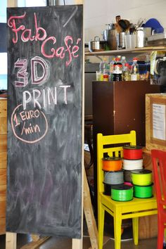 3D printing or consultation, 1 euro/min - seen at @Betahaus #berlin