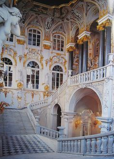 State Hermitage Museum - St. Petersburg, Russia. More to be seen here than the eye can take in or the mind can comprehend.
