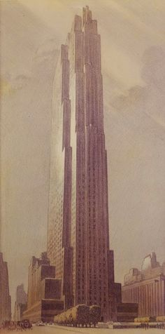 architectural style of the rockefeller tower David rockefeller presents  the port authority unveils an architectural plan  top of the world observation deck opens at two world trade center (south tower.