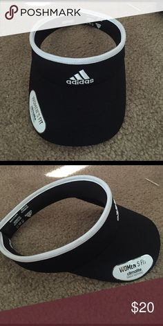 Adidas visor Brand new women's for climalite sun visor, taking offers! Adidas Accessories Hats