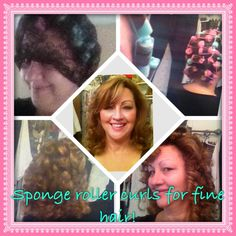 I have very fine naturally curly hair but it won't hold a curl with curling iron so....Mom knows best! Yep, I used SPONGE ROLLERS! Sleep in them overnight and curls last several days! I even used my Grandma's hair scarf which brought me so much love and great memories of my favorite woman! Try it for beautiful curls!