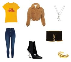 Bez tytułu #104 by wiki208 on Polyvore featuring moda, Acne Studios, River Island and Yves Saint Laurent