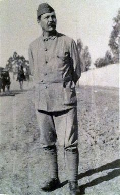 Conan Doyle in South Africa in 1900.