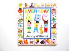 Everyday ABC a Vintage Children's Alphabet by lizandjaybooksnmore
