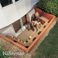Bring a flood of light into a dreary basement with a terraced window well. You also get an emergency escape route, planting beds and a view. Build this well as part of an egress window project or simply landscape an existing window well. In this article, well walk you through the construction process and tell you how to deal with the all-important issue of drainage.