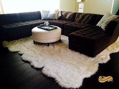 Premium Faux Fur Area Rugs , Luxurious Fur Bedding Made in the USA using Animal Free and Eco Friendly Materials. The Perfect Alternative to Real Animal Skins. Over 100 Different Types and Colors of Fur / over 5000 Unique Designs. Faux Fur Area Rug, Plush Throw Blankets, Beautiful Decor, Faux Sheepskin Rug, Bear Area Rug, Log Cabin Decor, Rugs, Kitchen Rug, How To Make Bed