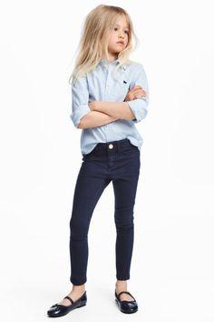 Superstretch Skinny Fit Jeans - Bleu denim foncé - ENFANT | H&M FR 1