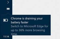 Rumor: Microsoft recomendaría usar Edge en lugar de Chrome