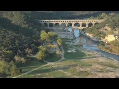 NIMES - #VIDEO another wonderful bridge in #France  Le Pont du Gard  http://stampingwithbibiana.blogspot.com/