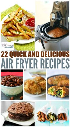 You all know I love my instant pot...but I also have a new love! The Air Fryer! This little gem is a must have in your kitchen!  Here are some favorite recipes! via @AFHomemaker