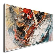 Amazon.com: Modern Home Wall Decor Art Large Original Art Abstract Large Large Framed Wall Art For Living Room Vertical Canvas Wall Art Large Abstract Art Abstract Paintings For Sale Abstract Expressionist: Handmade