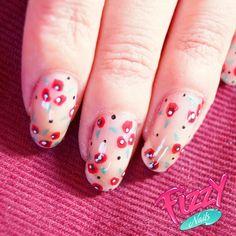 Coquelicots - Nail Art Gallery nailartgallery.nailsmag.com by nailsmag.com #nailart
