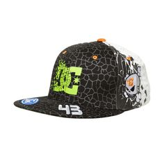 Mens Ken Block Cracked Hat - DC Shoes